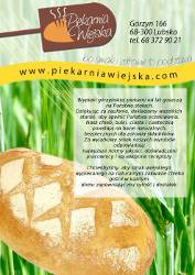 Reklama w kalendarzu Lubsko Słodkie miasto 2011