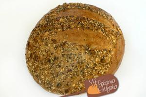 Chleb razowy okrągły