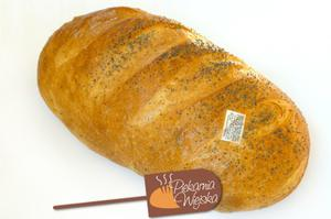 Chleb wiejski z makiem