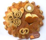 Tradycyjny chleb weselny
